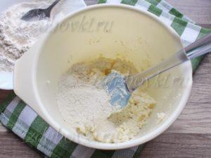 Приготовление творожного теста для печенья