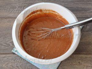 Тесто для шоколадного кекса