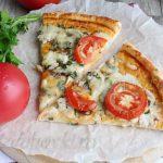 Пицца с курицей и грибами фото рецепт