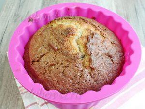 Готовый домашний кекс в форме