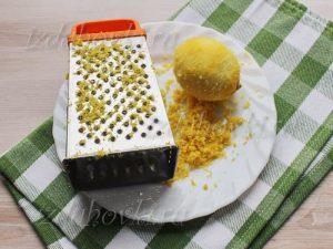 Тертая цедра для пирога