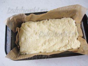 Кекс из творога в форме