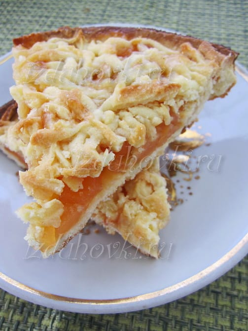 Пошаговый рецепт тёртого пирога с