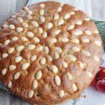 Рождественский кекс сухофруктами и орехами