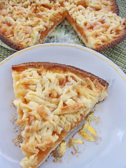 Тертый пирог с вареньем рецепт с фото