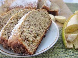 Банановый кекс в духовке рецепт с фото