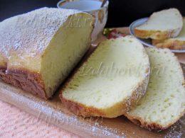 Кекс на молоке: рецепт с фото