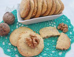 Песочное печенье с орехами рецепт с фото