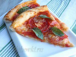 Пицца Маргарита итальянский рецепт классический