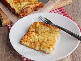 Слоеный пирог с сыром рецепт с фото